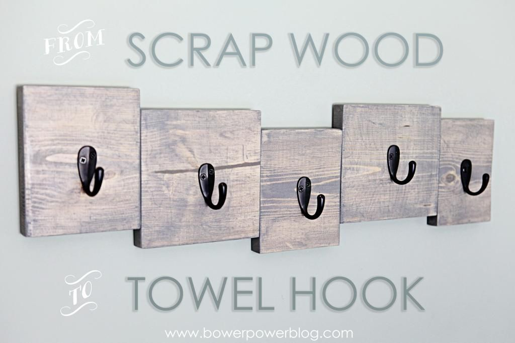 Hooked S Wood Crafts Towel Hooks Diy Projects