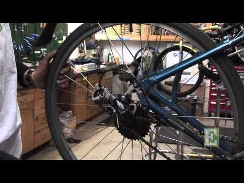 Bike Repair 1 How To Remove And Replace A Bike Wheel Youtube