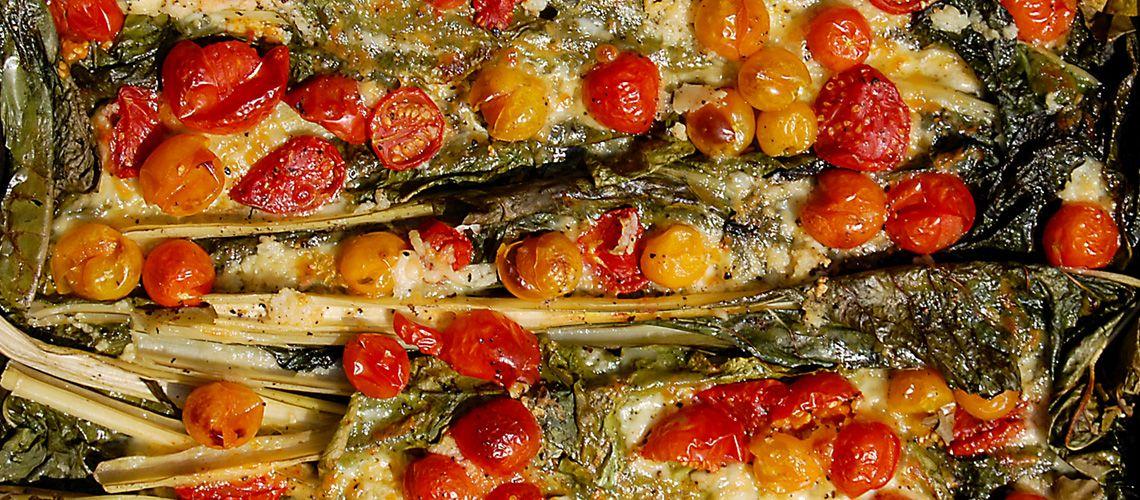 Poznáte Mangod? Čo je zač a čo s ním radí @janacevelova http://varme.sk/recipe/zapeceny-mangold-s-paradajkami-a-mozzarellou/