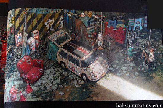 Tekkon Kinkreet Black Kuro Side Art Book Review Book Art Cityscape Art Art