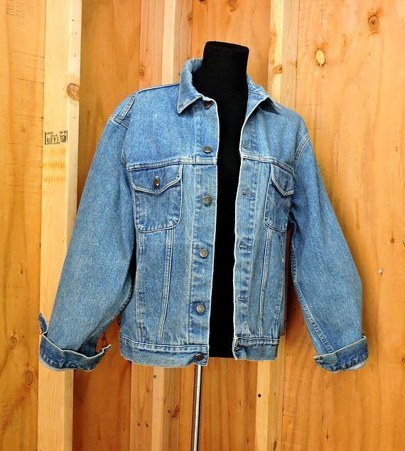 Vintage 90's Gap Denim Jacket L Bpkl15A