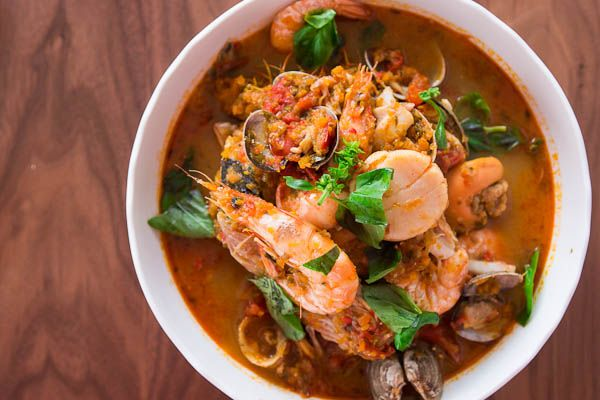Seafood Stew Technique #seafoodstew