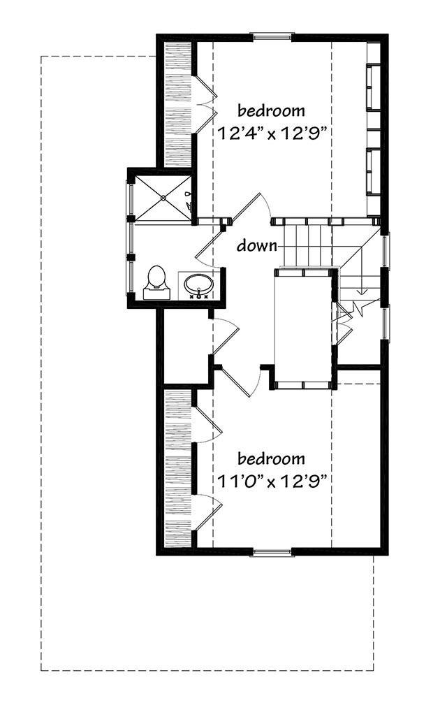 Sensational Hunting Island Cottage 1364 Sq Ft Alternate Upper Level Beutiful Home Inspiration Aditmahrainfo