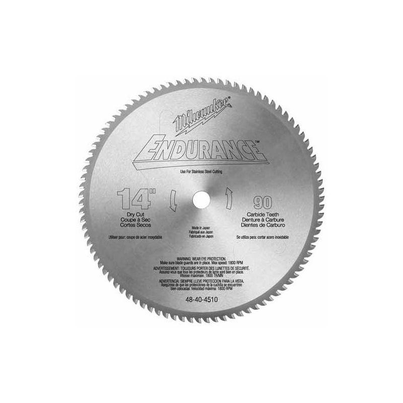Milwaukee 48 40 4510 14 circular saw blade with 90 teeth steel with milwaukee 48 40 4510 14 circular saw blade with 90 teeth steel with greentooth Choice Image
