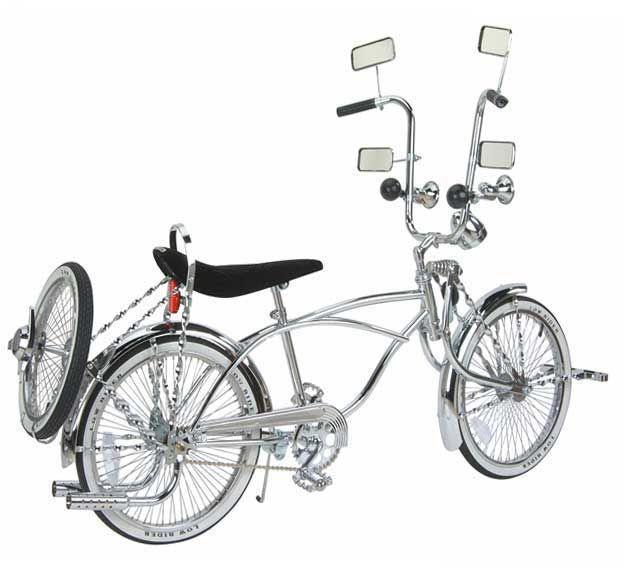 Lowrider Bicycle Twisted Sprocket Chopper Beach Cruiser Lowrider Bike Chainring