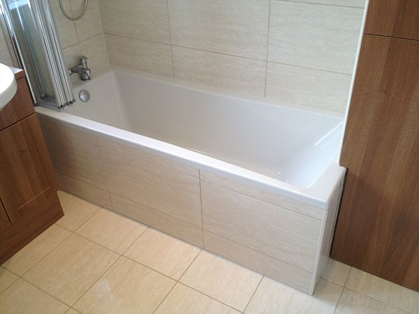 Large Format Glossy Ceramic Tiles With Bathroom Installation In ...