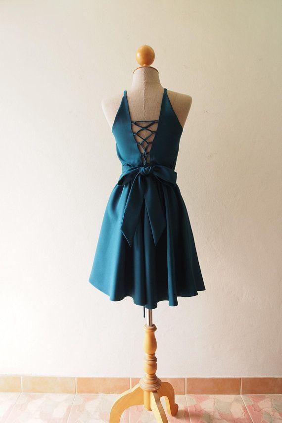 114a882cbe9 Women Dress in Prussian blue