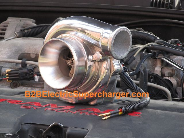 Electric Turbocharger B2b Do It Yourself Supercharger Build You Own Or To Increase The Performance Of