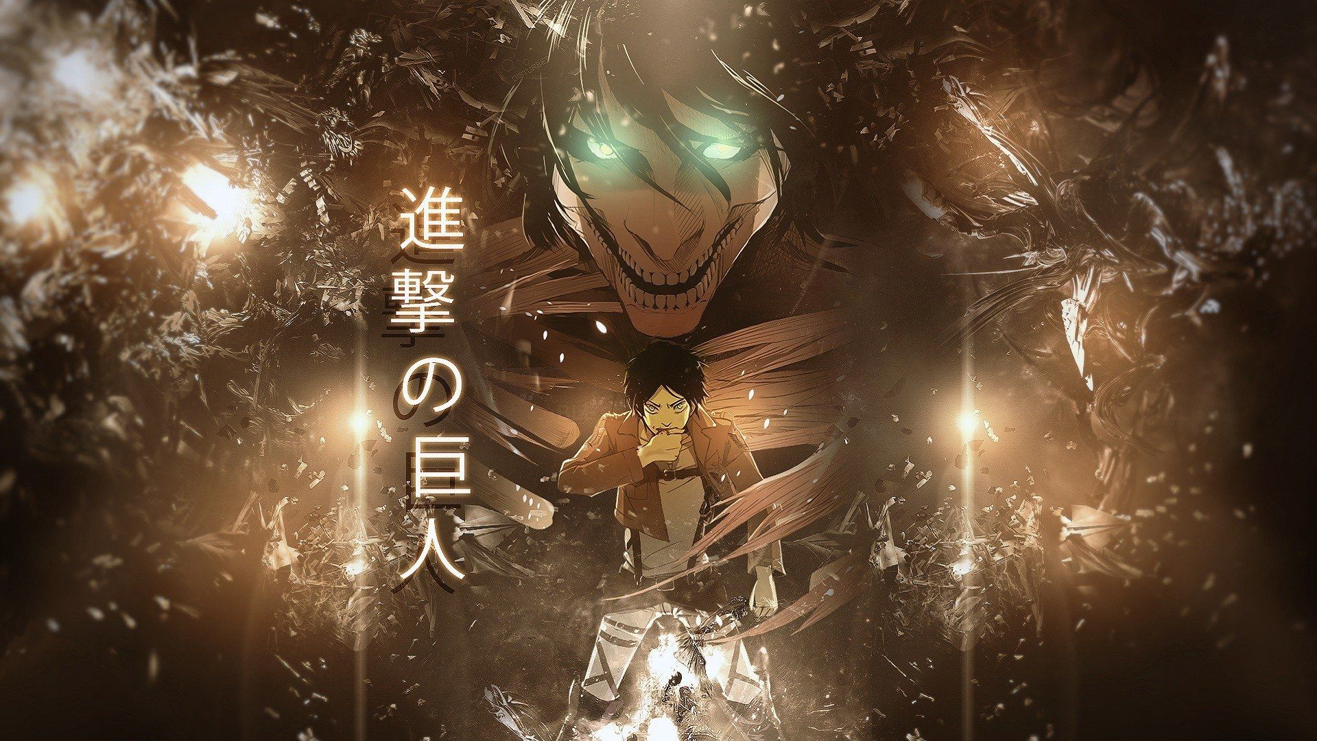 Anime Attack On Titan Eren Yeager Wallpaper Anime Attack On