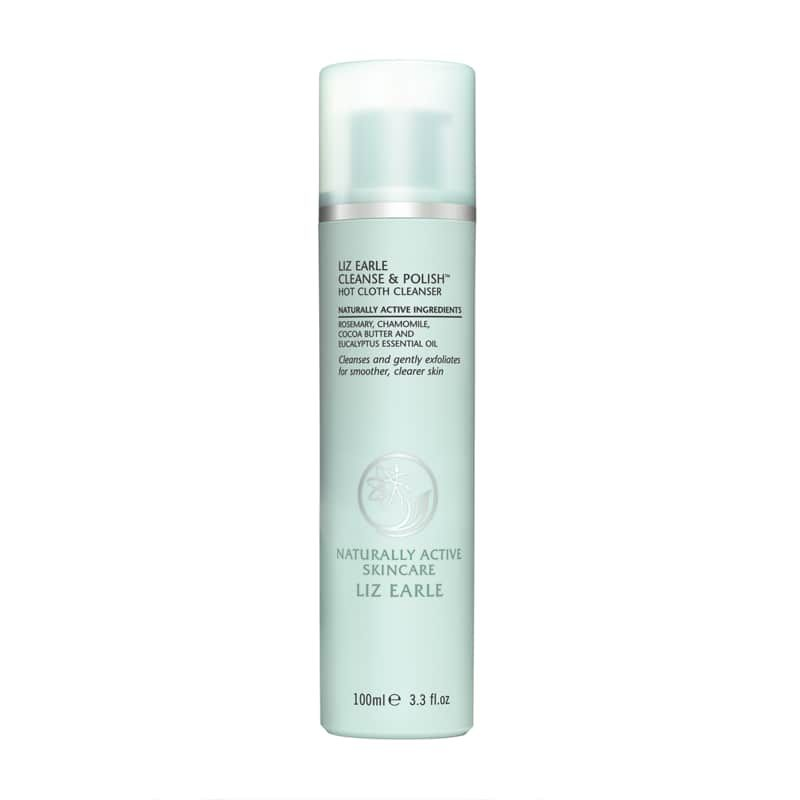 Liz Earle Cleanse Polish Hot Cloth Cleanser 100ml Cleanser Dry Sensitive Skin Anti Aging Cleansers