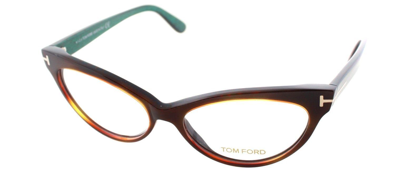 TOM FORD FT 5317 Eyeglasses 052 Dark Havana | Eyeglasses | Pinterest