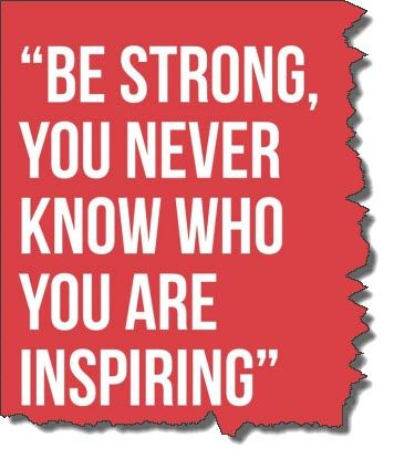 """Cancer Survivor Quotes Cancer Survivor Quotes """"be Strong You Never Know Who You Are ."""