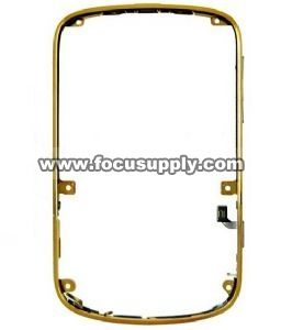 Blackberry Bold 9900 Bezel Faceplates Cover housing Gold CODE : 64333  In stock Condition : New and OEM Compatible Model: BB 9900 Market Price: USD$60 New Price : USD$50