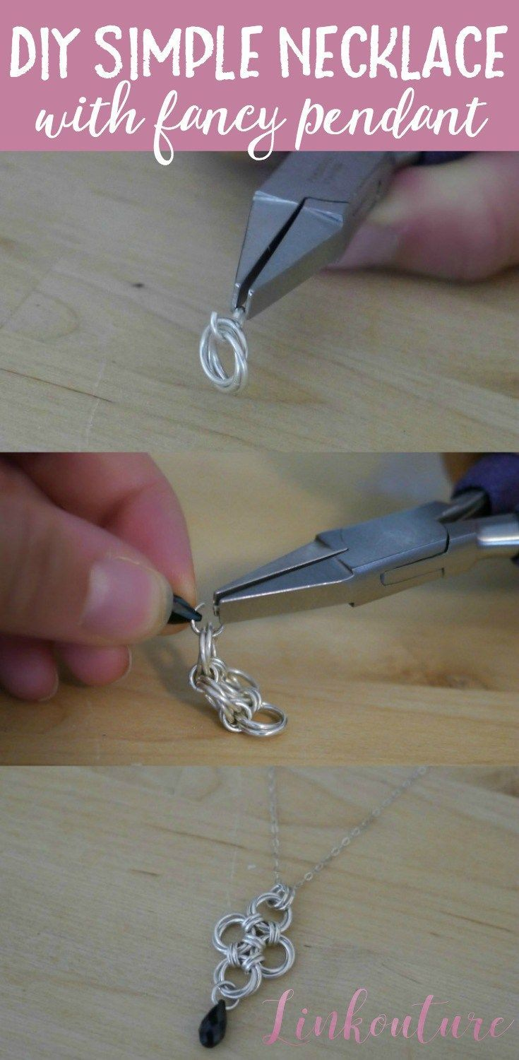 A beautiful and seriously easy diy necklace tutorial how