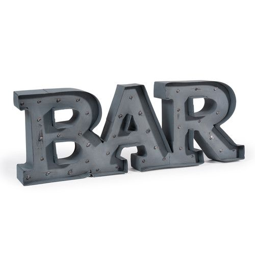 Palabra luminosa de LED Bar INDUS