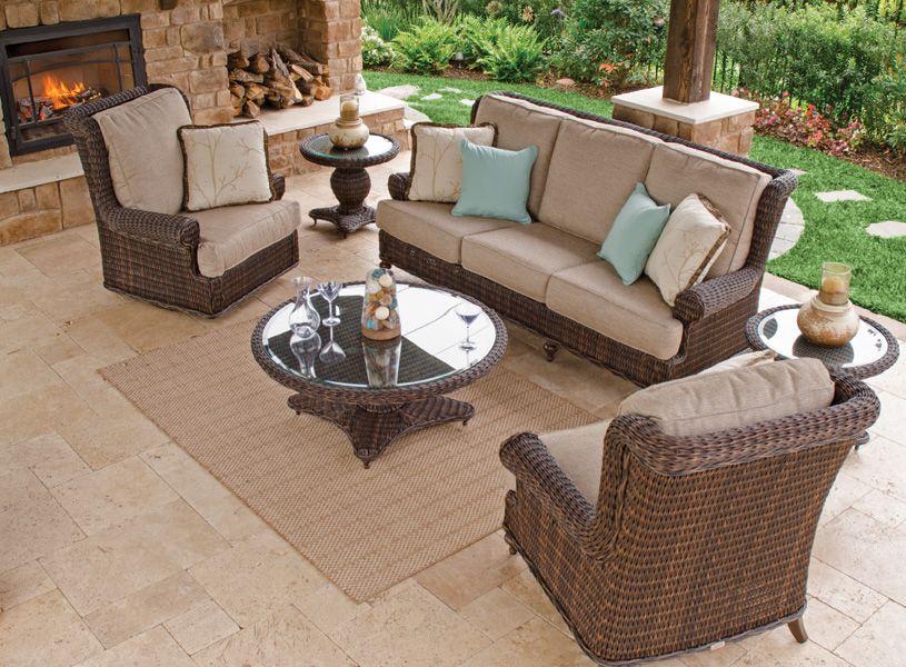 Resin Wicker Furniture Outdoor Patio Chair King Backyard