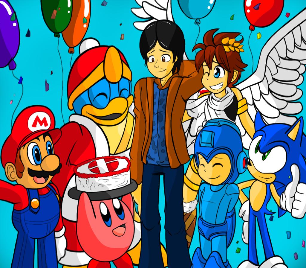 Thank You Masahiro Sakurai By Brittinroberts On Deviantart Deviantart Anime Smash Bros