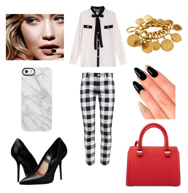 PLAYTIME by laura-melissa-cortes on Polyvore featuring moda, Boutique Moschino, Dolce&Gabbana, Burberry, Victoria Beckham, Chanel, Uncommon, House of Holland and Tom Ford