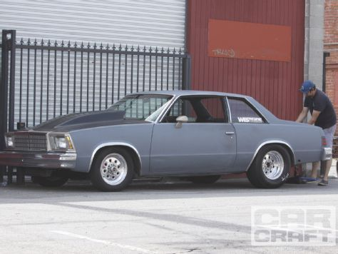 Eric Solomon Built This 11 Second 1978 Chevy Malibu Coupe For