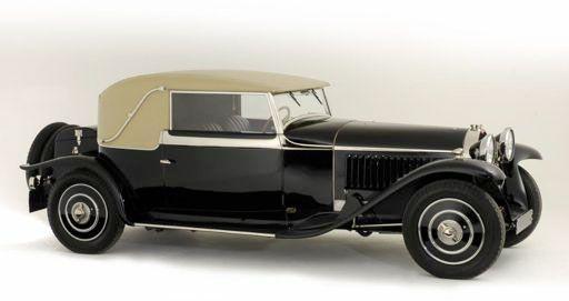 1930 Bugatti Type 46 by Veth & Zoon