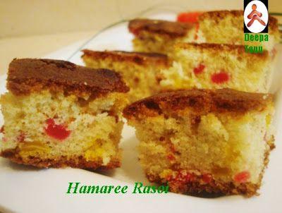 Hamaree rasoi: Tutti-frutti Cake and few awards from my blogger f...