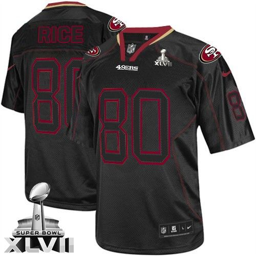 4e730c17177 ... shopping jerry rice elite jersey 80off nike super bowl xlvii jerry rice  elite jersey. 49ers