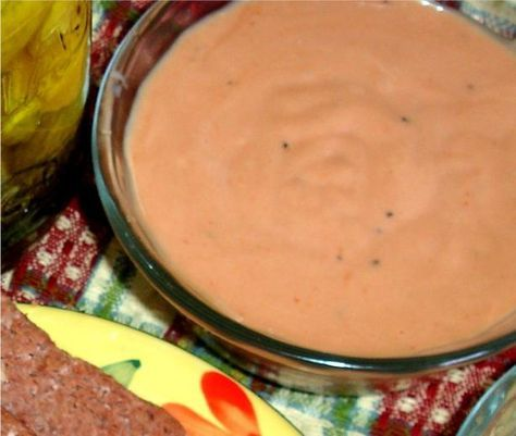 Russian Dressing-This is the best ever!!!!! We love this with pastrami, swiss cheese & coleslaw sandwiches!!!!