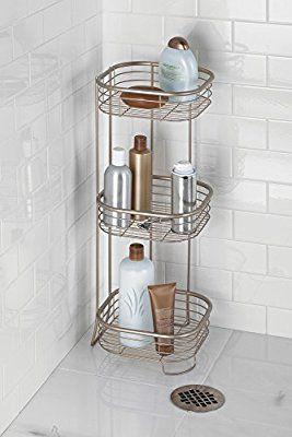 Mdesign estanter a ba o o estante ducha almacene el for Estanteria bano acero inoxidable