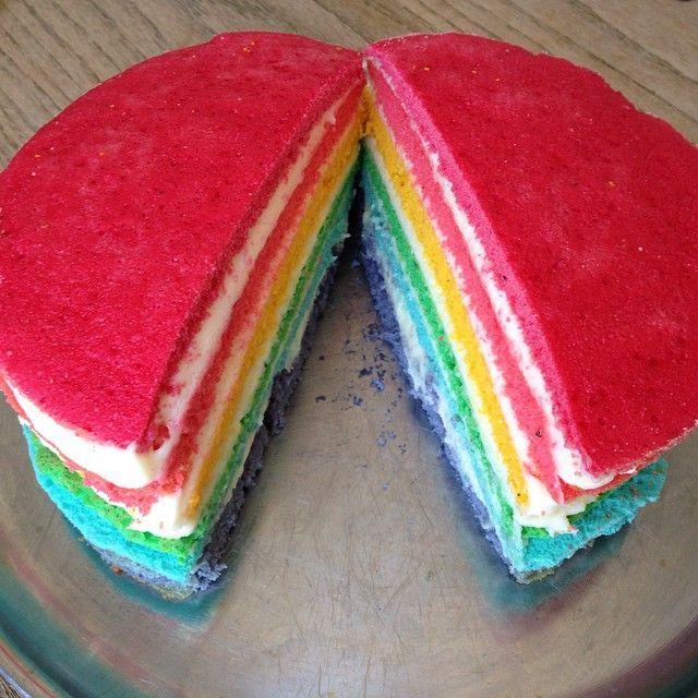 Splinterny Regnbuekage i lag – meget børnevenlig smag! Du skal bruge: en TW55