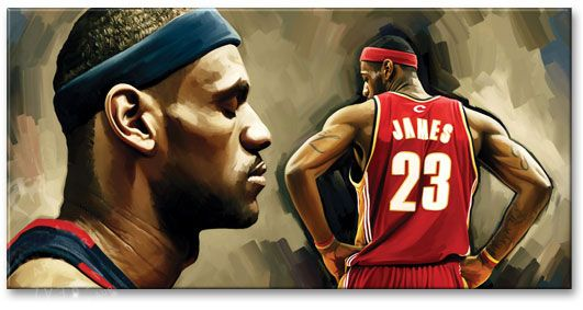 LeBron Raymone James (; born December 30, 1984) is an American professional basketball player for the Cleveland Cavaliers of the National Basketball Association (NBA). Description from imgarcade.com. I searched for this on bing.com/images