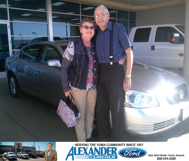 THANK YOU jOSE gUERRERO FOR SELLING US A NICE BUICK. yOU ARE A GOOD SALESMAN. aARCHIE AND ARLENE- ARCHIE KENNARS BYRE, Wednesday, January 21, 2015 http://www.billalexanderford.com/?utm_source=Flickr&utm_medium=DMaxxPhoto&utm_campaign=DeliveryMaxx
