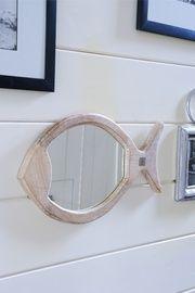 Happy fish mirror 51x30 €49,95