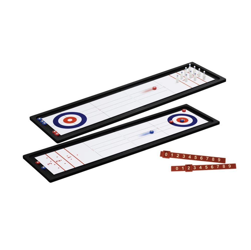 BRAND NEW! Tabletop 2 IN 1 MINI BOWLING AND SHUFFLE BOARD