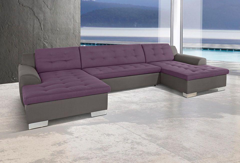 Wohnlandschaft, wahlweise mit Bettfunktion Jetzt bestellen unter - big sofa oder wohnlandschaft