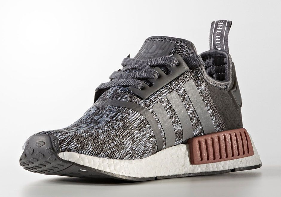 #sneakers #news adidas NMD R1 Textile In Grey/Pink Coming At August's End