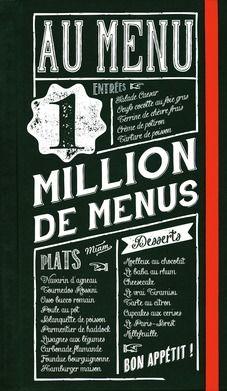 1 million de menus