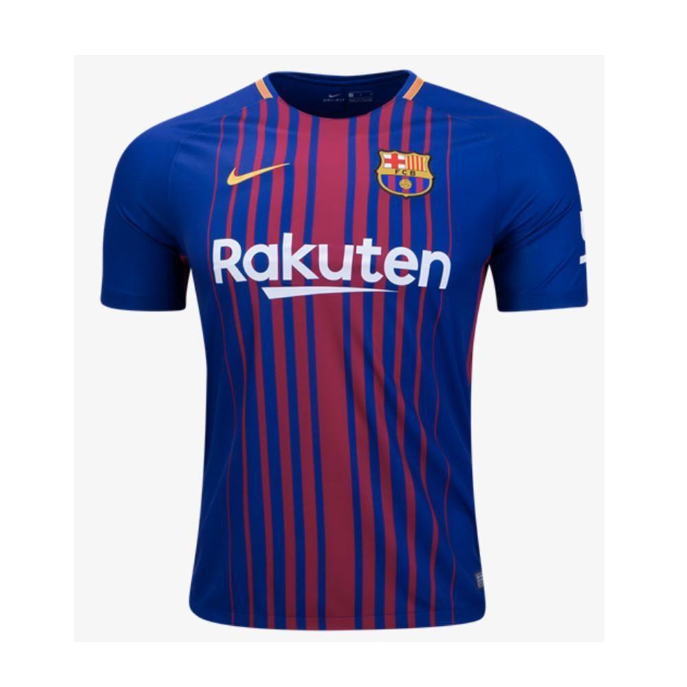 Barcelona F.C. Home Jersey 2017 2018  a0673c4e827