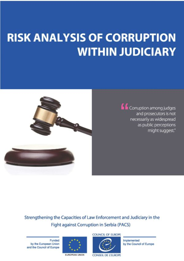 Risk Analysis Of Corruption Within Judiciary  Fighting Corruption