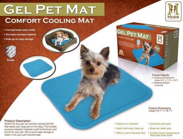 Keeping Pups Cool On Hot Days Via Petside Would Be So Nice For The Hot California Summers Dogisgood Cool Pets Pet Pads Pet Mat