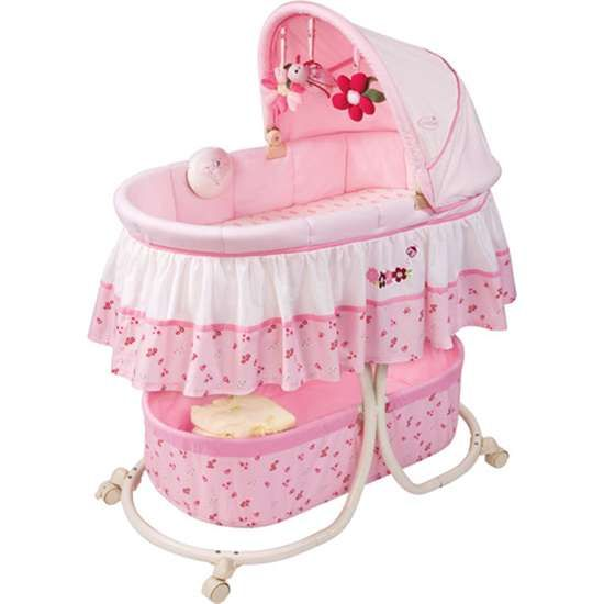 Baby Bassinets Summer Infant Ladybug Soothing Bassinet Pink