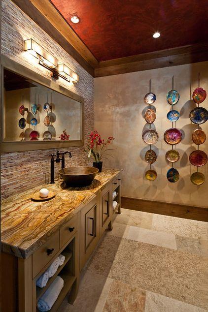 Wall Candy Dish Up Colorful Glass Art Plates Asian Home Decor Bathroom Decor Bathroom Wall Decor