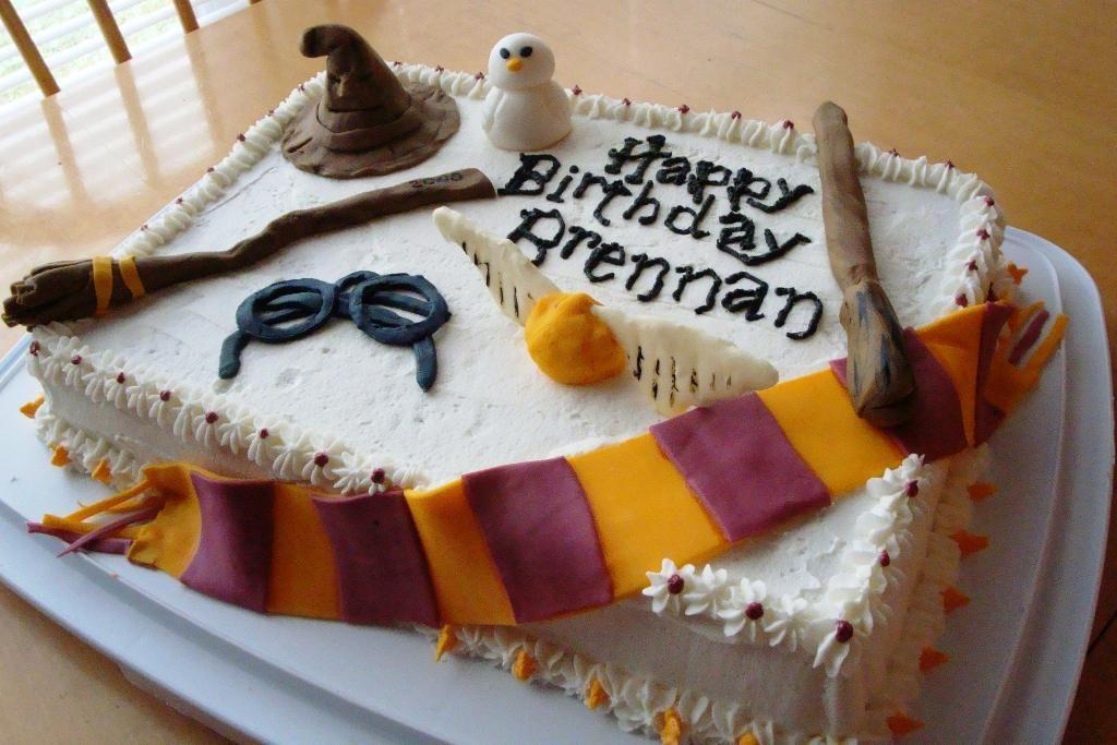 Easy Harry Potter Birthday Cake Ideas Various Cake Photos With