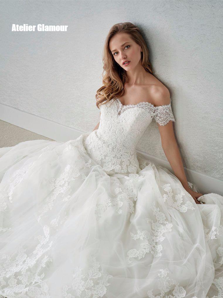 Pin by Hani H on Svatební Šaty | Pinterest | Bride gowns, Wedding ...