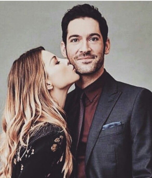 Lauren German (Chloe Decker) & Tom Ellis (Lucifer