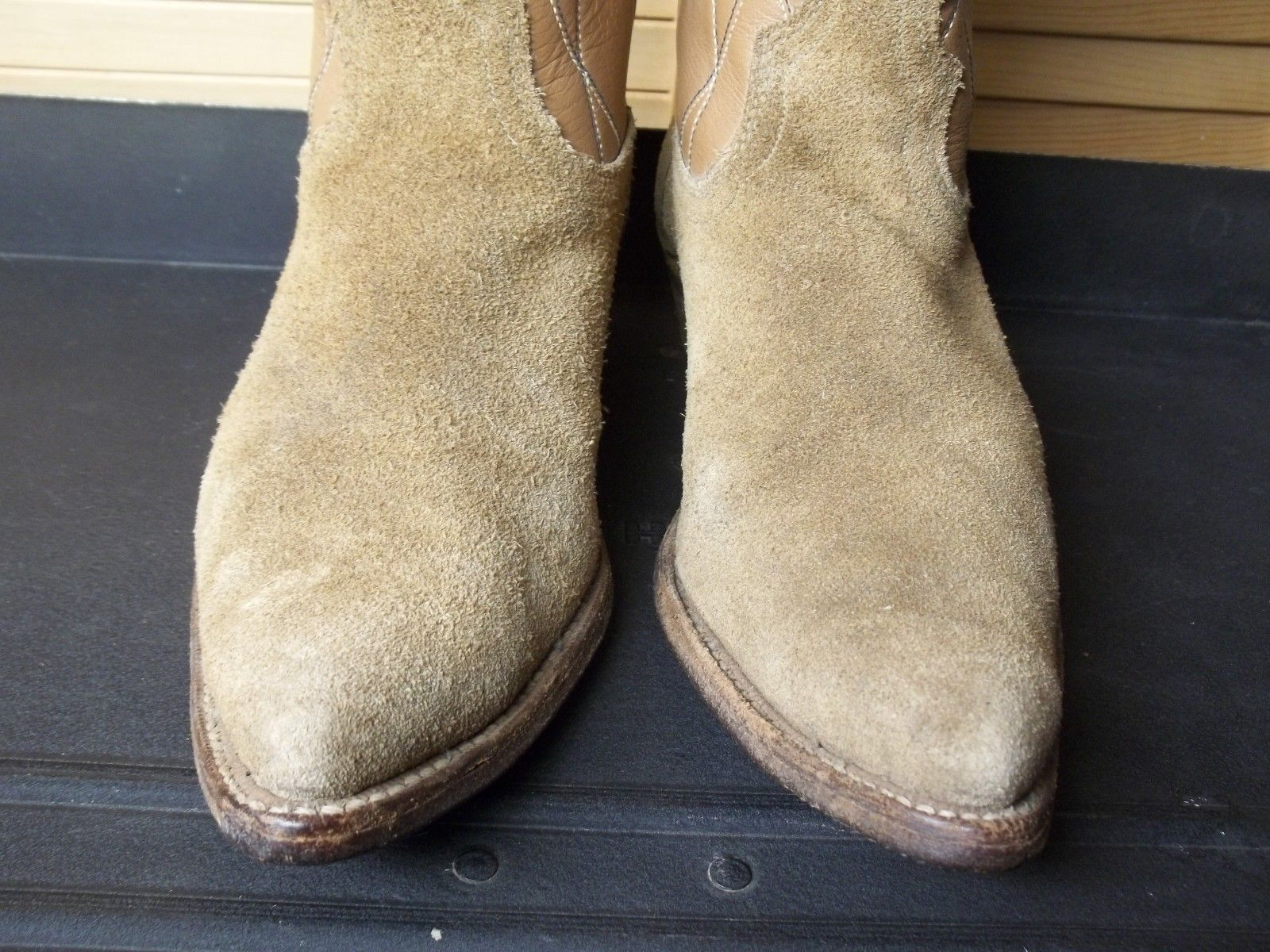 ACME vintage Rough Out Suede Leather