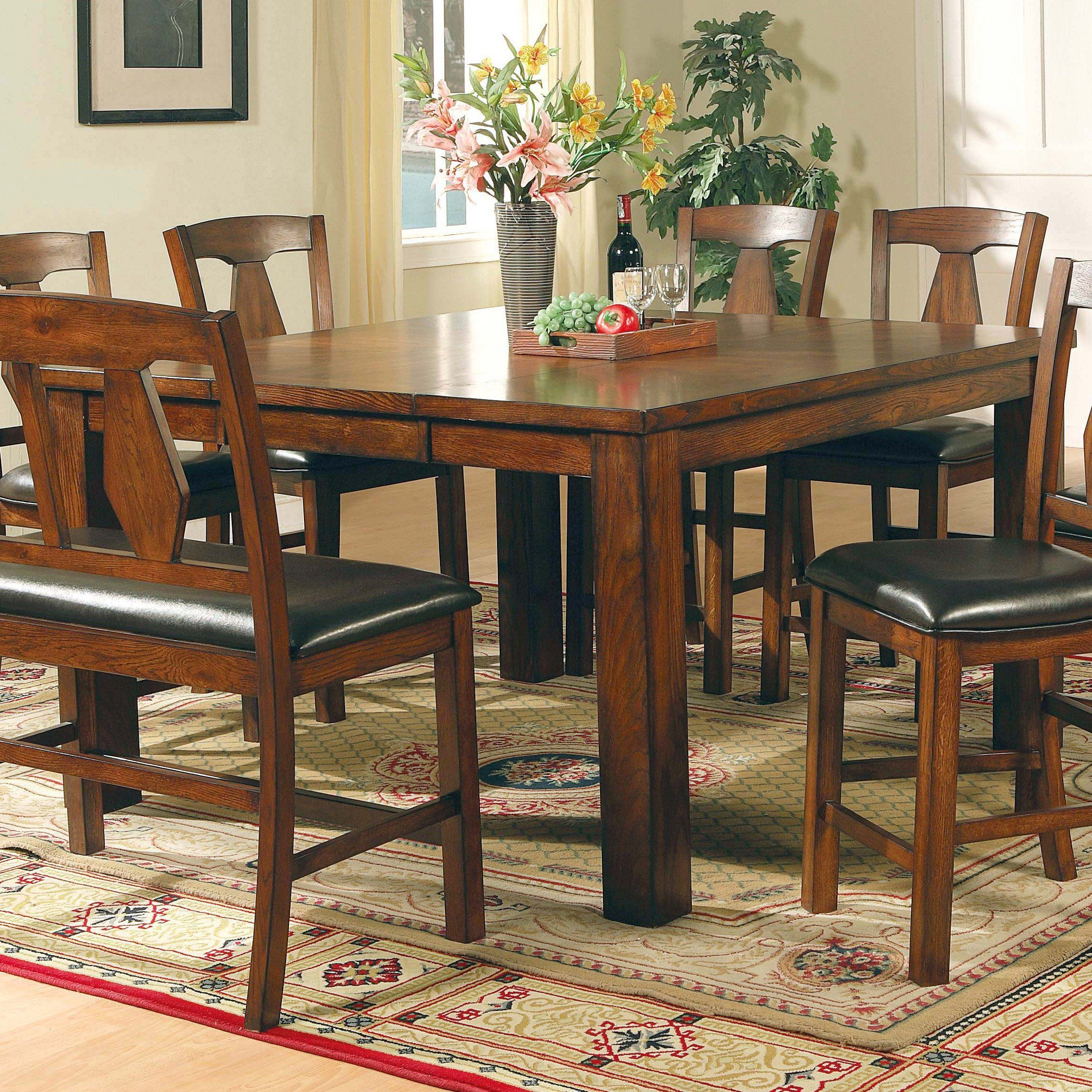 Steve Silver Lakewood Counter Height Dining Table From Hayneedle