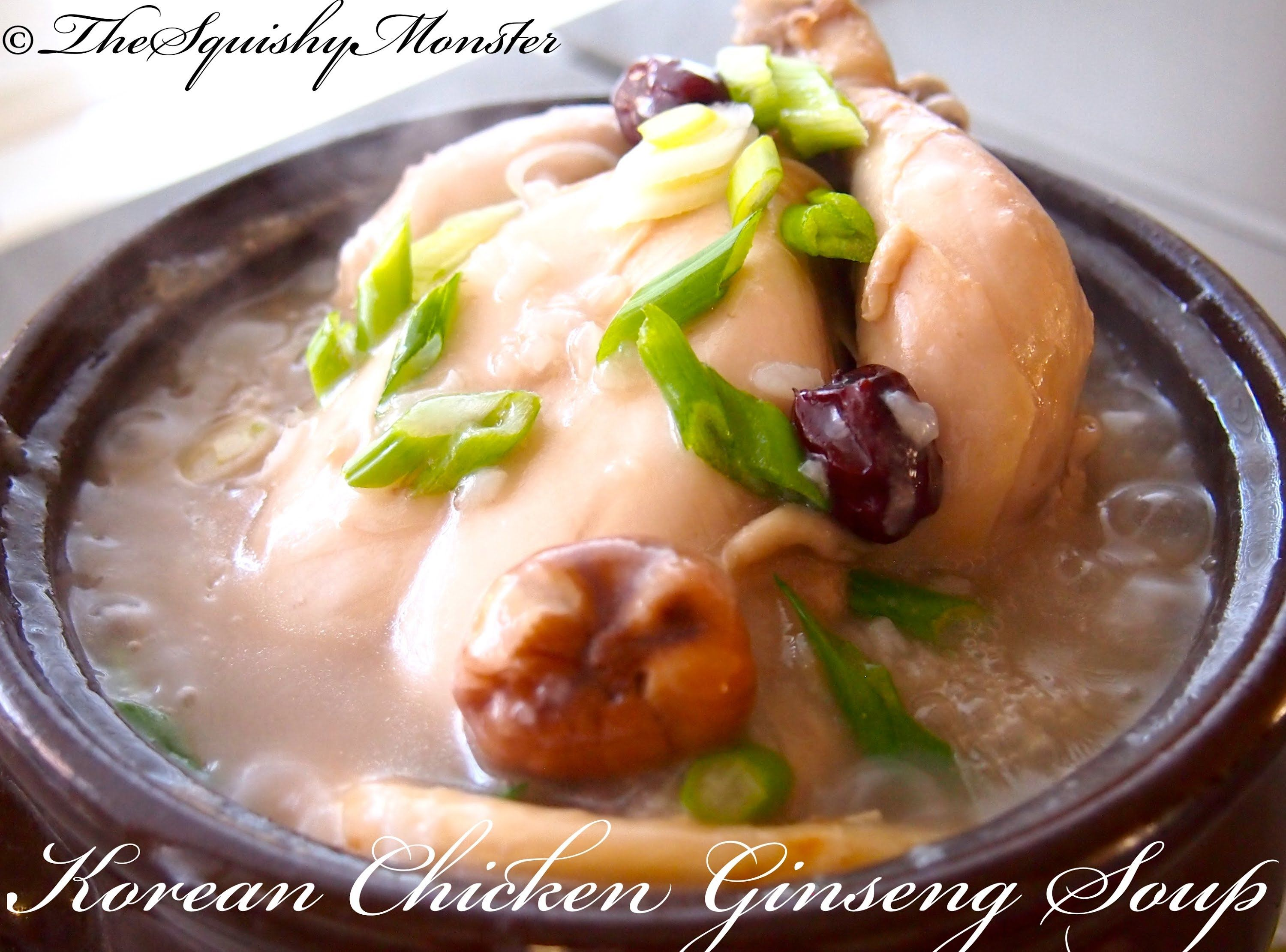 Korean food chicken ginseng soup recipe lifestyles korean food chicken ginseng soup recipe forumfinder Image collections