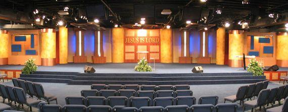 Church Sanctuary Design Ideas | Home / Stage Designs / Wide Design