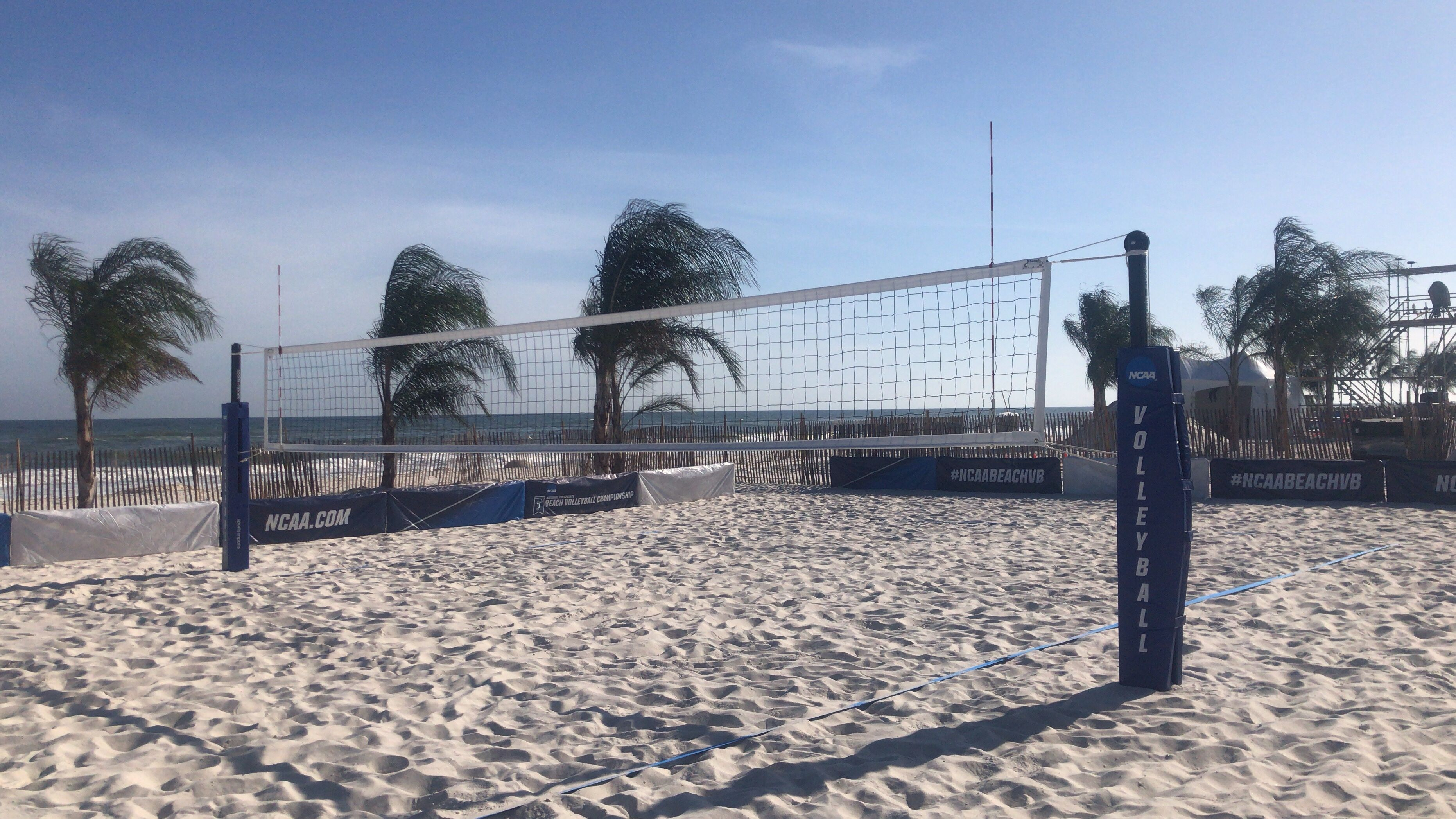 2019 Ncaa Beach Volleyball Championship In Gulf Shores Alabama Volleyball Equipment Beach Volleyball Volleyball