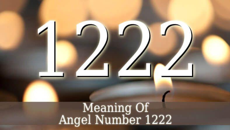 Angel Number 1222   Angel numbers   1222 angel number, Angel